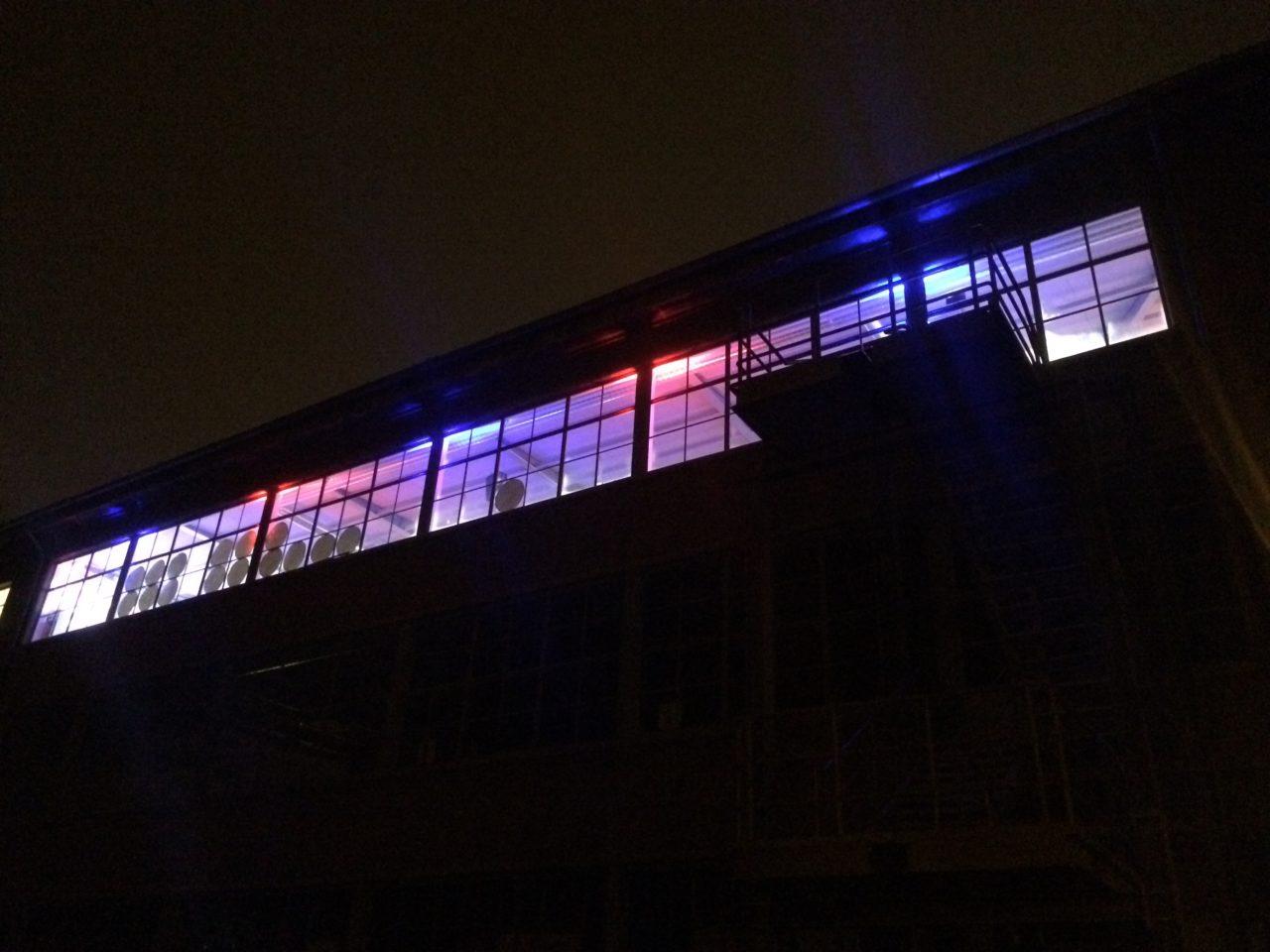 Automobilmuseum Eisenach bei Nacht